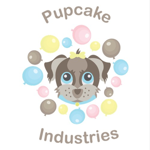 Logo Concept for Pupcake Industries