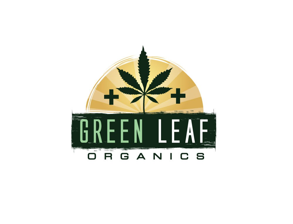 Create the next logo for Green Leaf Farms or Green Leaf Organics