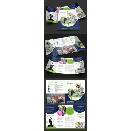 Brochure for Groundbreaking Senior Wellness Program