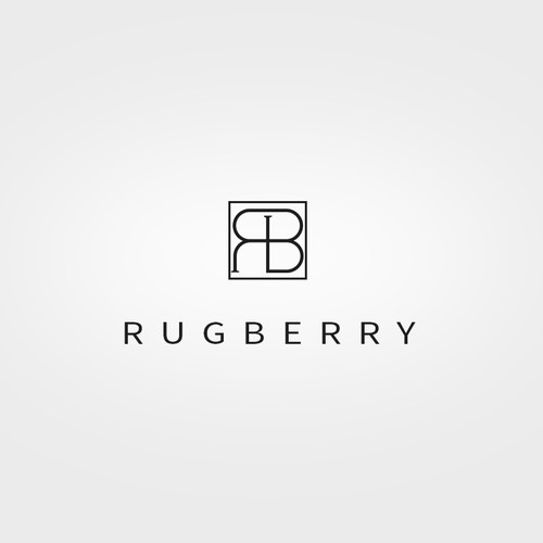 Logo for designer Rugs and accessories brand - Rugberry