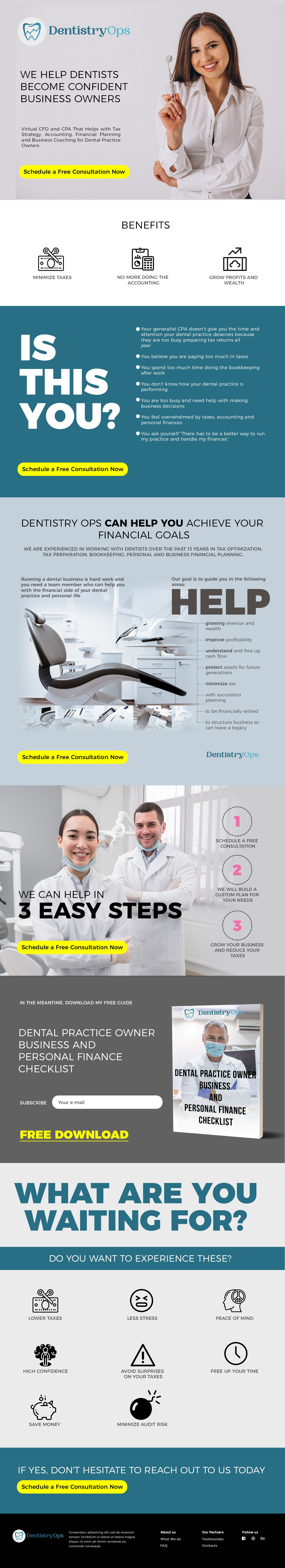 Dental CPA/Accounting Business Needs a Powerful Website