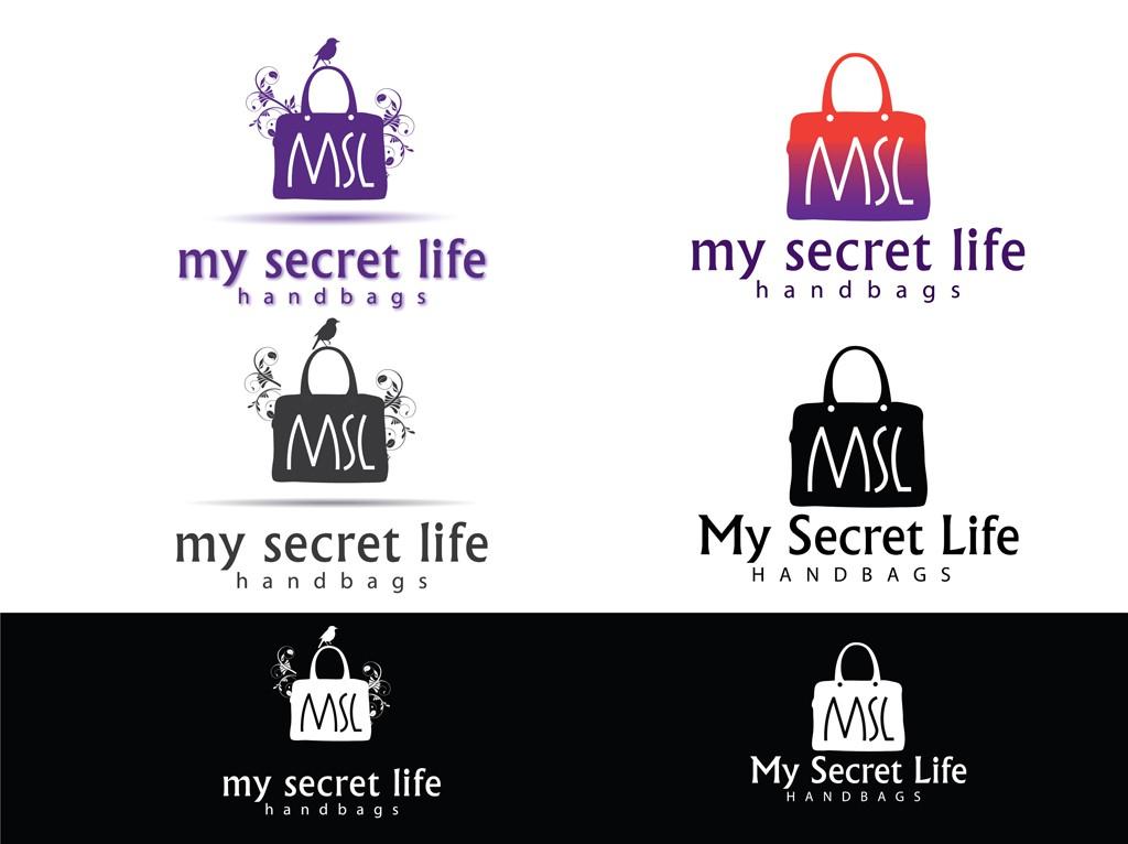 logo for My Secret Life Handbags