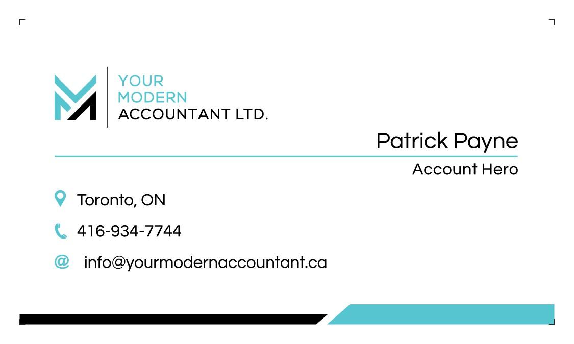 Modern Accounting Company needs a modern design