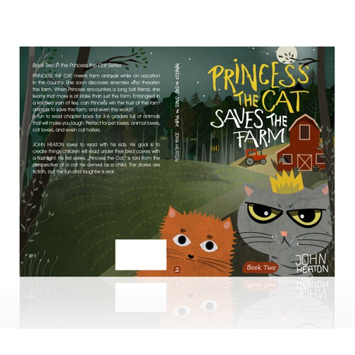 Princess The Cat / Book cover Serie 2