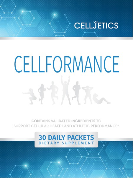Celljetics Logo and Cellformance product design