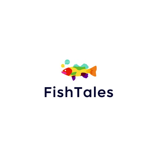 FishTales Logo Design