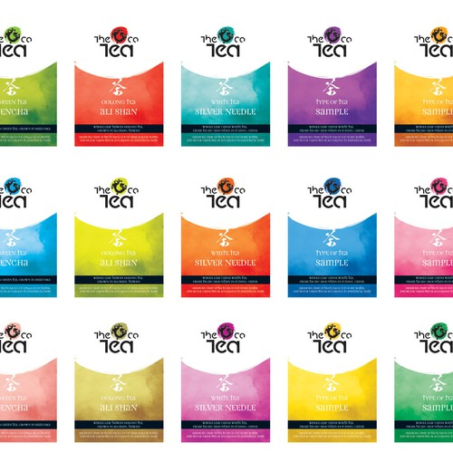 "COOL WORK!! Packaging & Logo design for ""The Tea Co"""