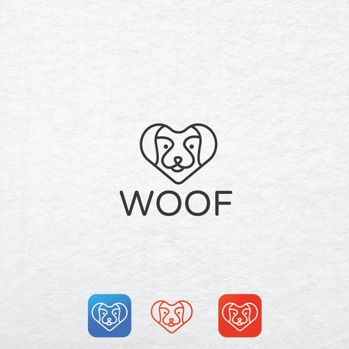 Logo concept for WOOF