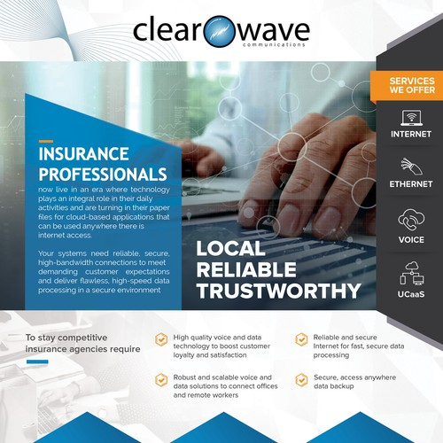 Clearwave flyer