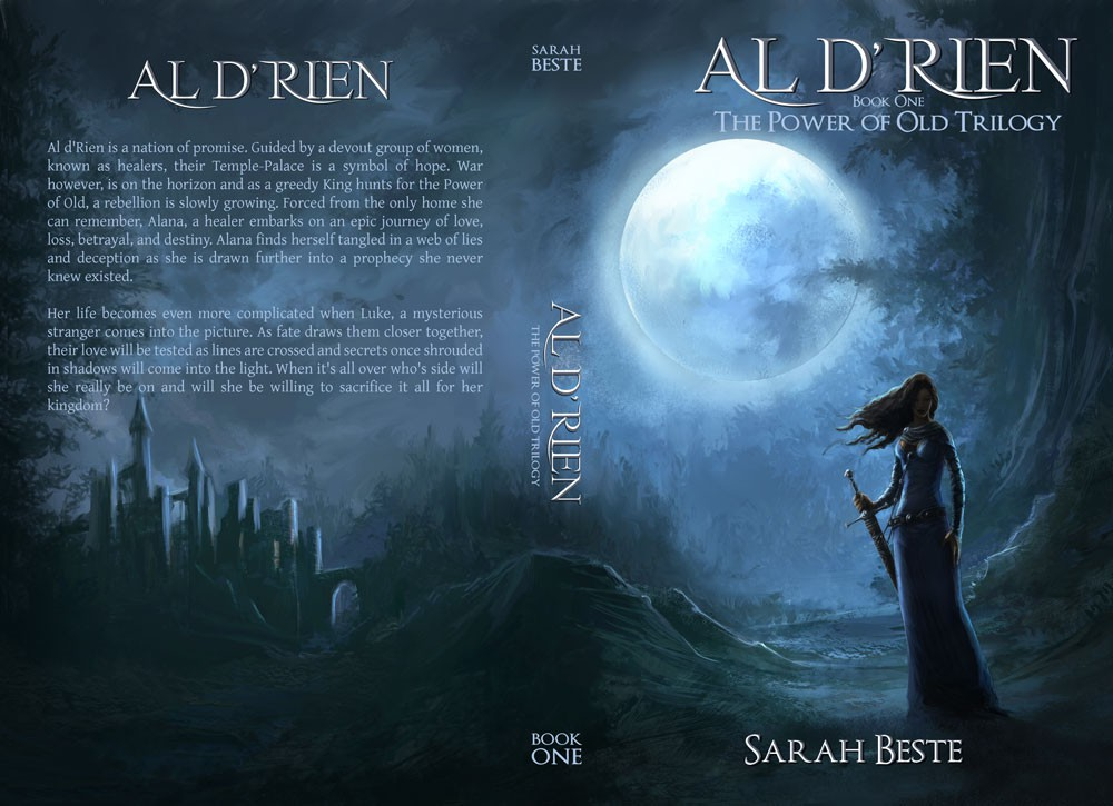 Help Al d'Rien Fantasy Book Cover Design Needed  with a new book or magazine cover