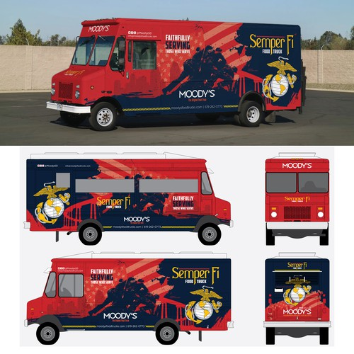 Kickass Food Truck for Marine Base