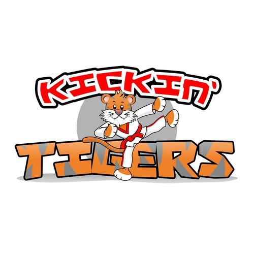 Kickin' Tigers needs a cartoon logo