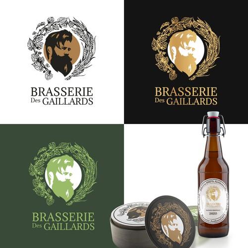 """Logo Concept for """"Brasserie des Gaillard"""""""