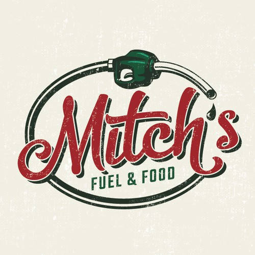 Mitch's Fuel & Food Logo Design