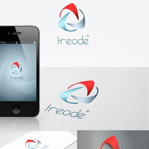 logo & CI design for TREODE