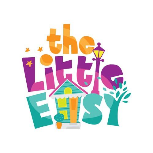 Playful logo concept for children's venue