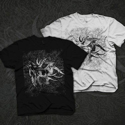 Create an capurting t shirt illustration for parallel 46
