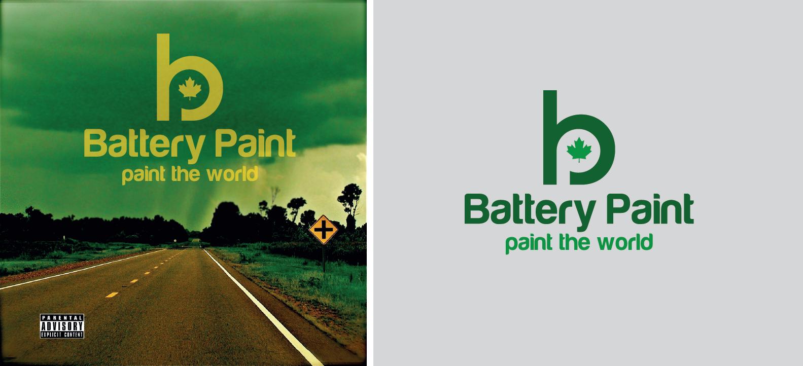 Battery-Paint  needs a new logo