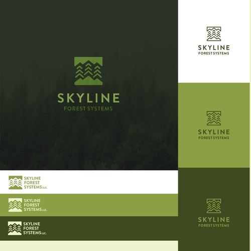 skyline simplistic design