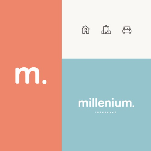 Clean, colorful identity