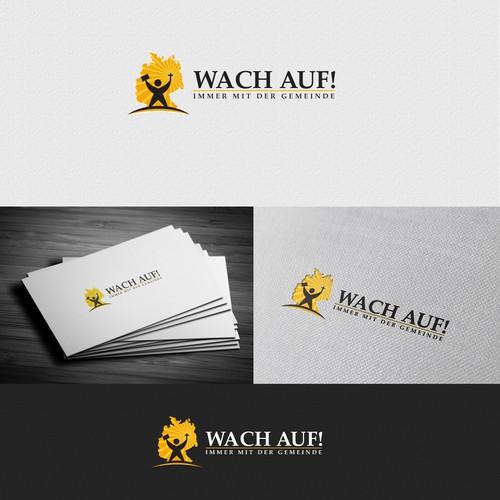 Wach Auf! (Wake Up!) benötigt (needs) logo
