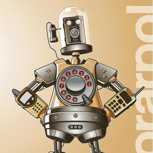 Brand character for Technology e-Commerce