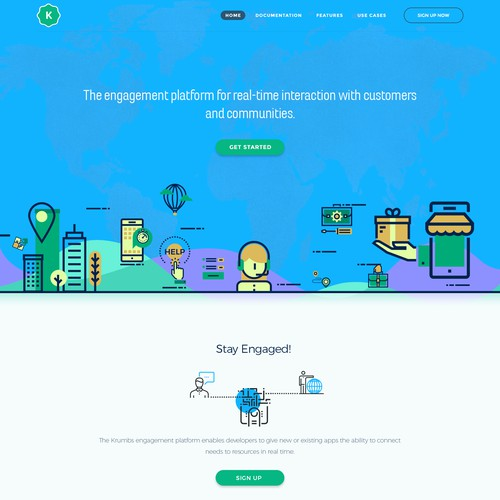landing page design #2 [ awarded contest ]
