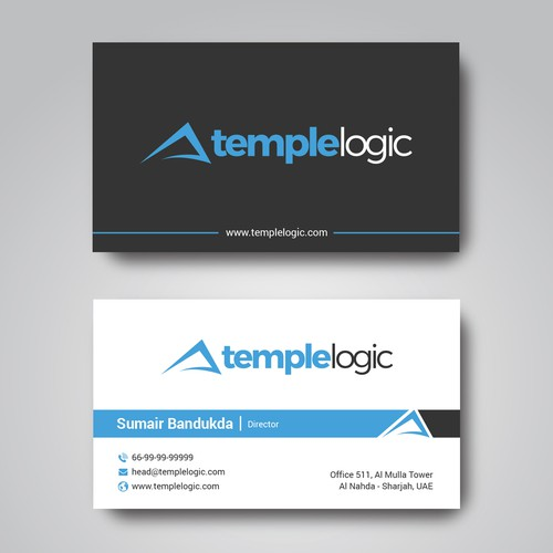 Logo Based Business Card