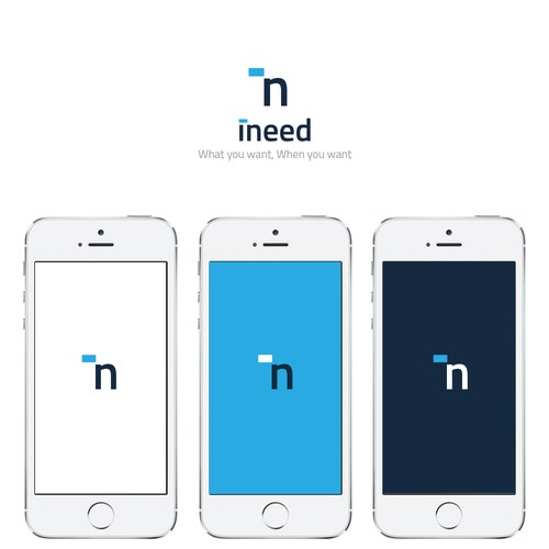Logo for iNeed app