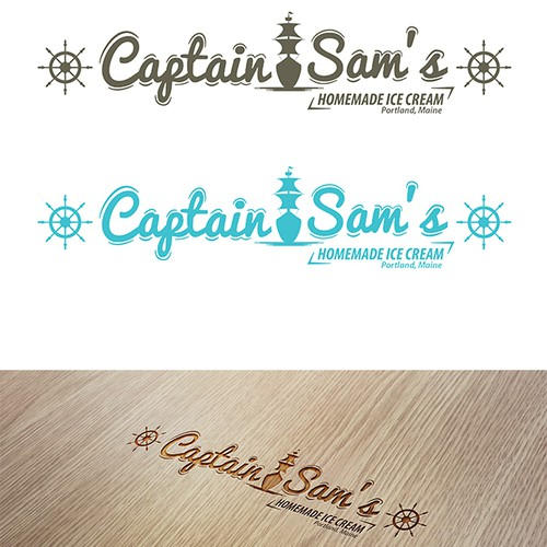 Create vintage lettering design for a Maine business
