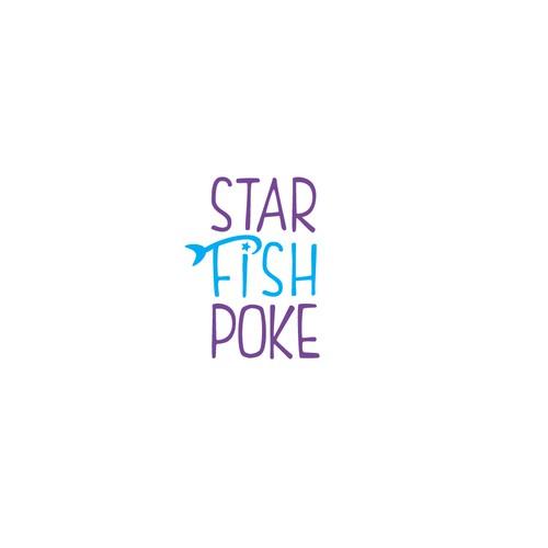 Logo for a poke restaurant