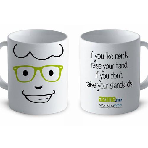 Nerd coffe mug
