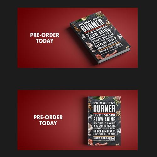 Banner design for Primal Fat Burner