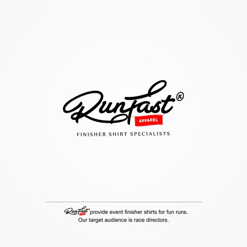 Create a killer logo for runfast apparel.