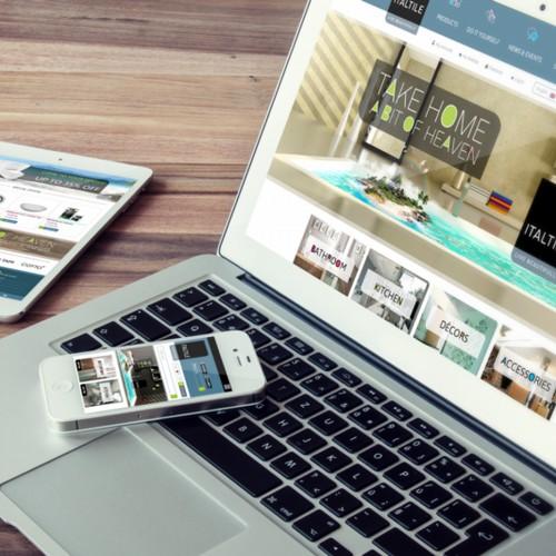 Online shop customization