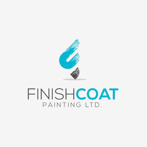 logo concept for FinishCoat Painting Ltd.