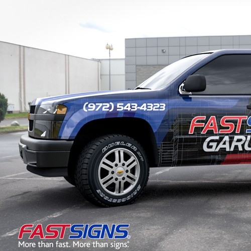 Fast Signs Garland Full Wrap