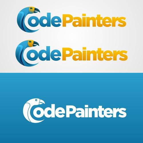 CodePainters Logo Design