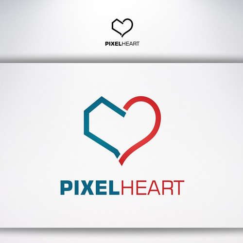 Pixel Heart Apps Logo - For all those who love the web and the endless opportunities it offers