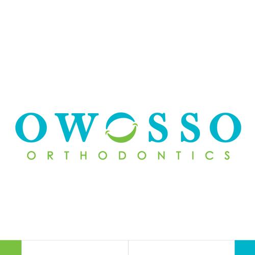 A logo for Owosso Orthodontics