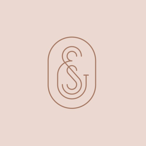 S&S monogram for boho fashion brand