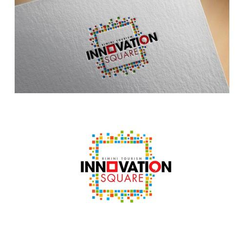 Logo per Innovation square, piazza dell'innovazione turistica