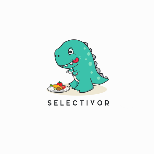 playful logo concept for selectivor.
