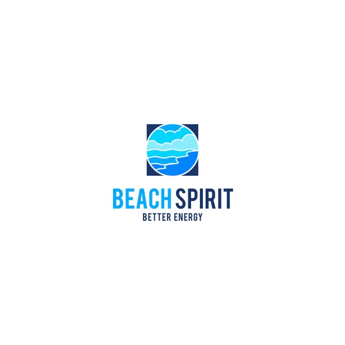fresh logo concept for Beach Spirit