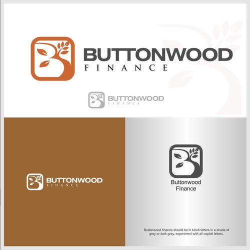 Logo Concept for Buttonwood Finance