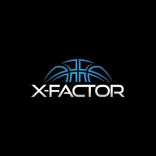 X-Factor Basketball Logo