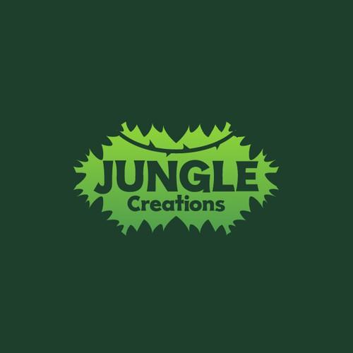Jungle Creations logo design concept