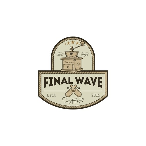 final wave coffee logo