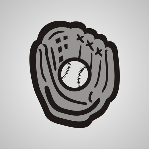 logo for New baseball silhoutte for a sportswear company