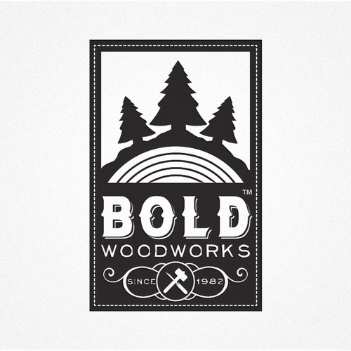 Create a winning logo design for Bold Woodworks......